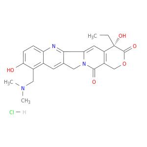 Topotecan Hydrochloride (HCl), CAS No.: 119413-54-6